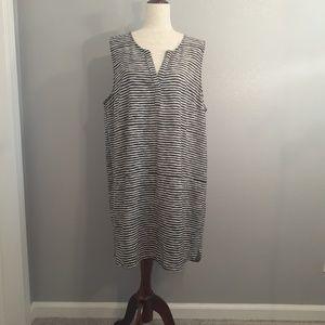 GAP Blue & White Stripped Dress